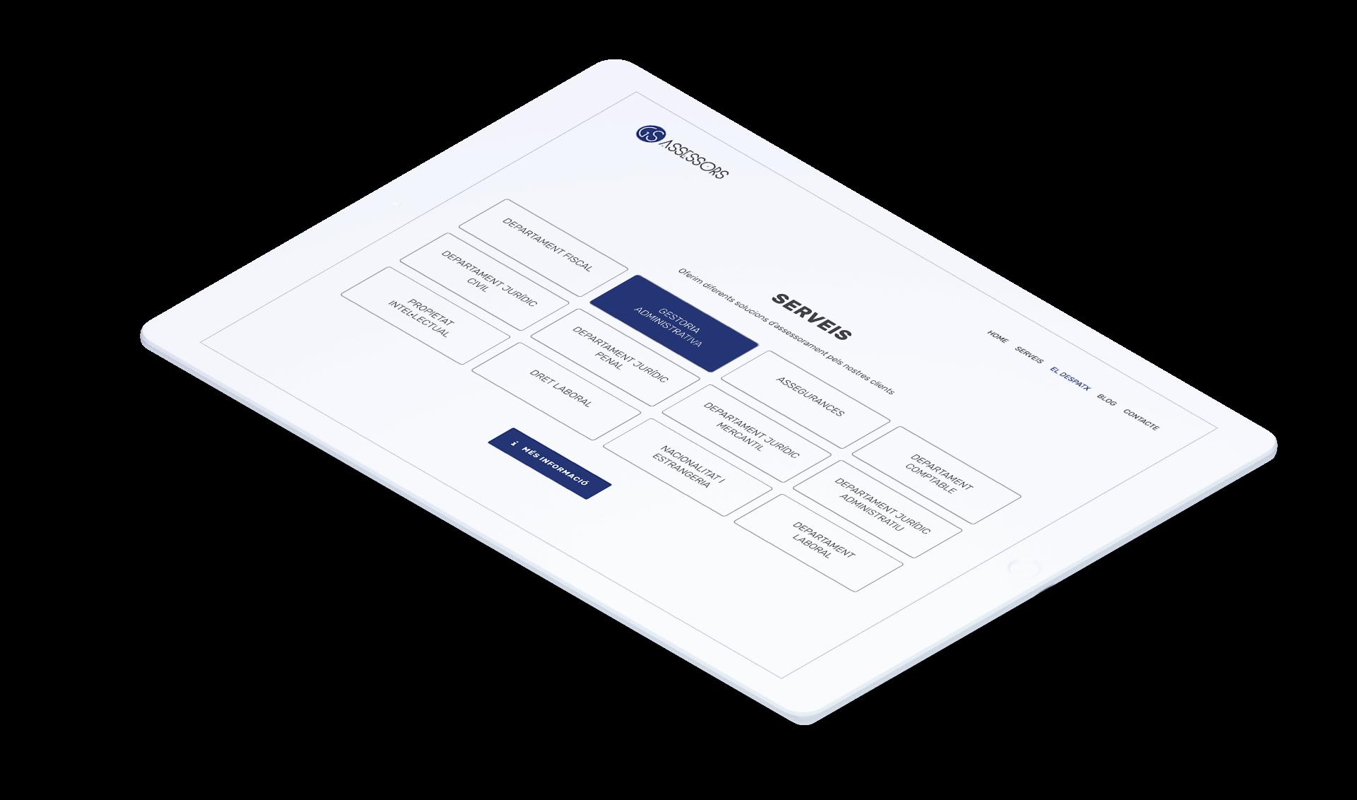Diseño de página web para asesoría