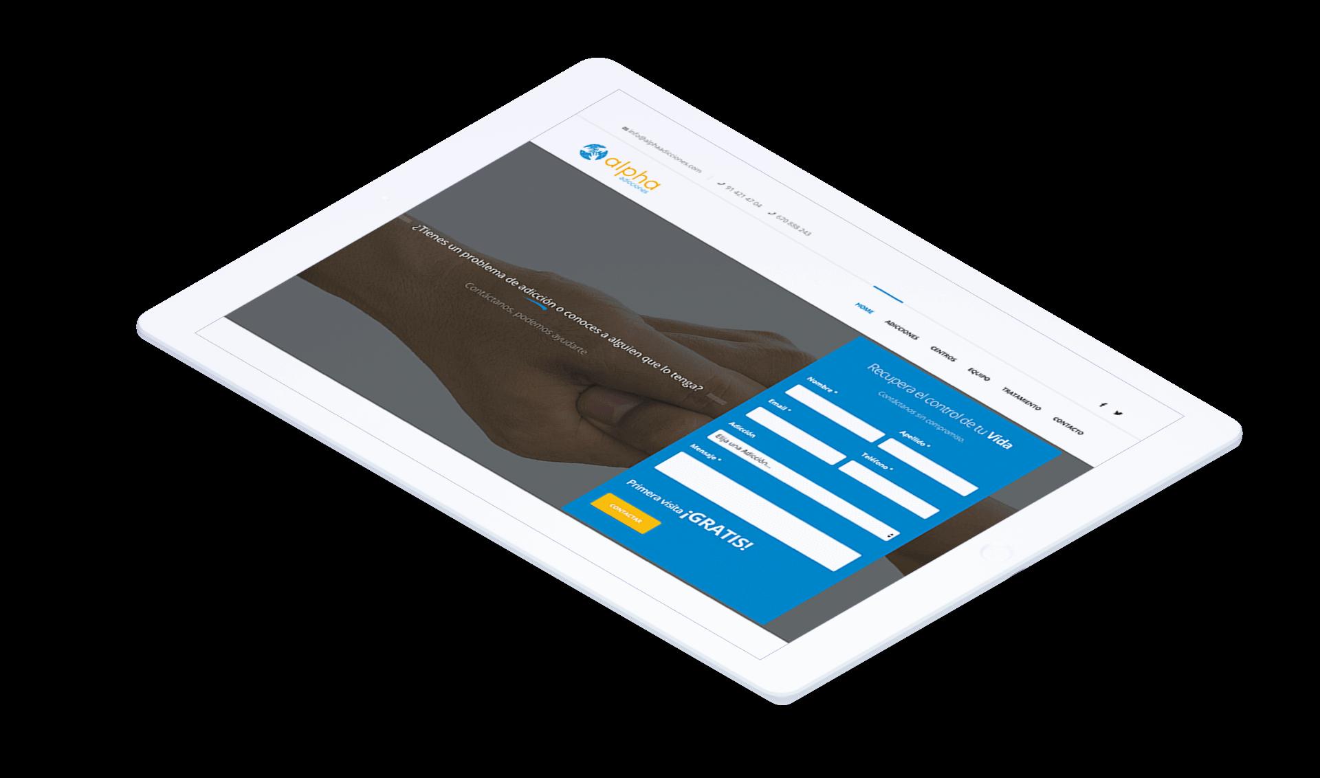 Diseño de página web para centro de psicología