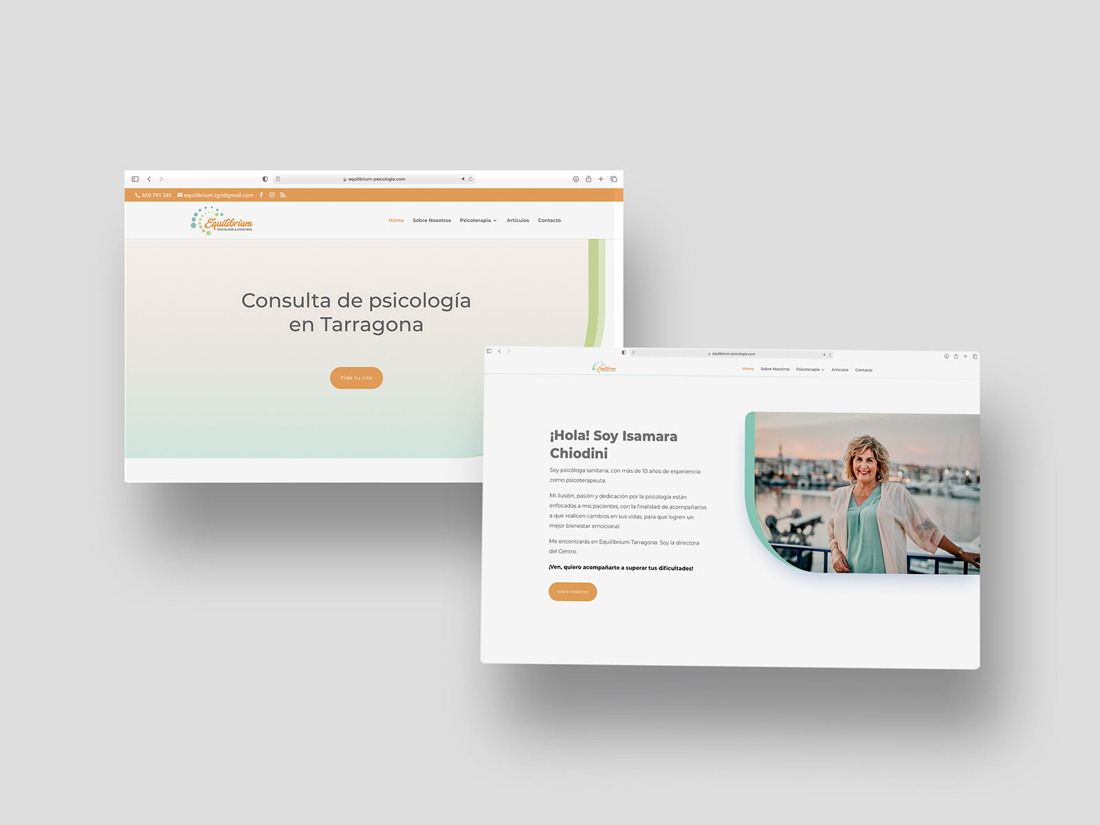 Web per centre de Psicologia de Tarragona