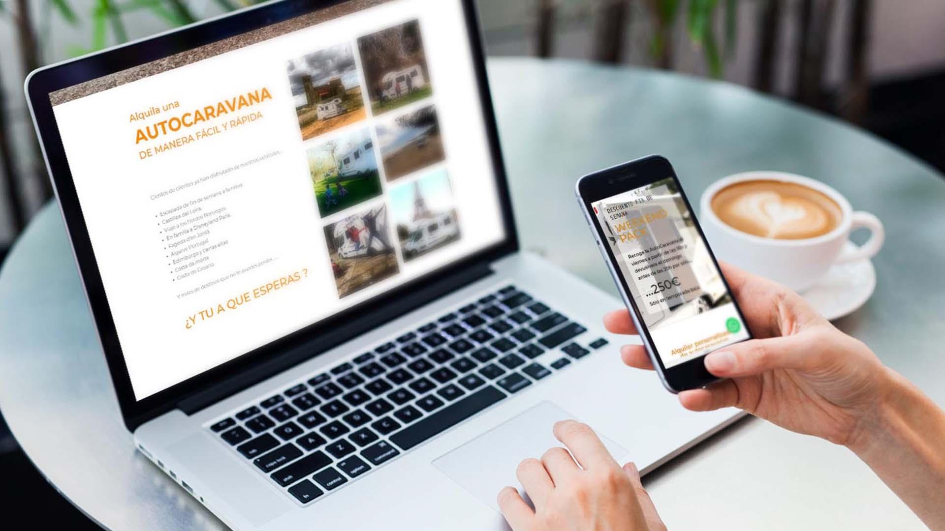 Diseño web para autocaravanas Tarragona | Olago
